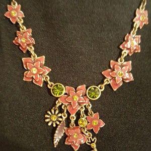 Floral Pilgrim Necklace